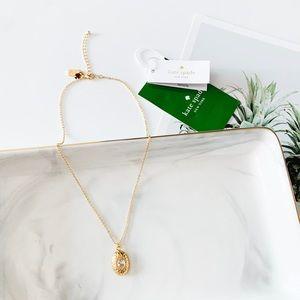 ❗️LAST1❗️Kate Spade Dainty Oval Pendant Necklace
